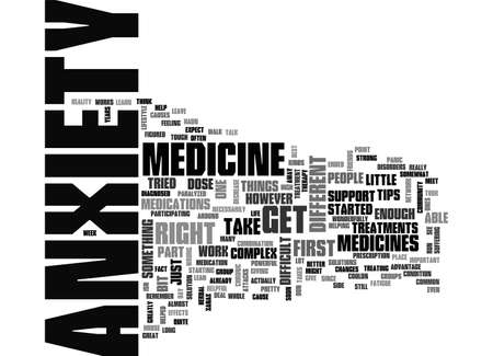 ANXIETY IS A THIEF TEXT WORD CLOUD CONCEPT