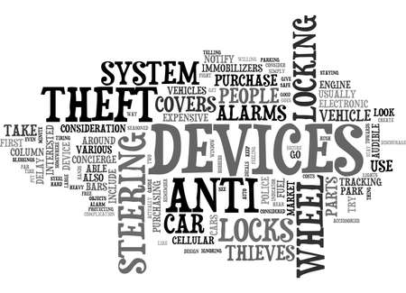ANTI SPYWARE TEXT WORD CLOUD CONCEPT Ilustrace