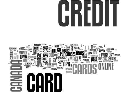APPLY ONLINE FOR A CREDIT CARD HOW TO CHOOSE A CARD TEXT WORD CLOUD CONCEPT