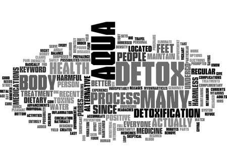 APTITUDE TEST TEXT WORD CLOUD CONCEPT Illustration