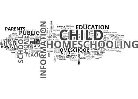 ARE YOU READY TO HOMESCHOOL YOUR CHILD YET TEXT WORD CLOUD CONCEPT