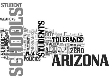 ARIZONA SCHOOLS DID THEY OVERREACT TEXT WORD CLOUD CONCEPT