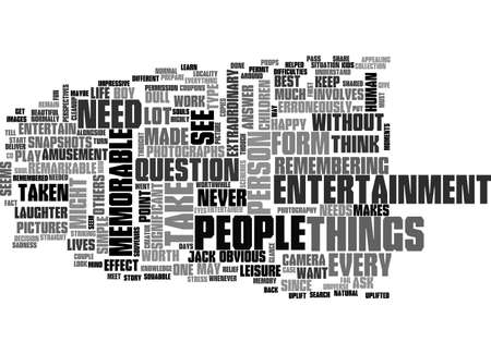 ARE YOU IN SEARCH OF A MEMORABLE ENTERTAINMENT TEXT WORD CLOUD CONCEPT Vectores