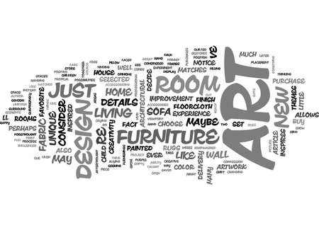 ART AND DESIGN TEXT WORD CLOUD CONCEPT