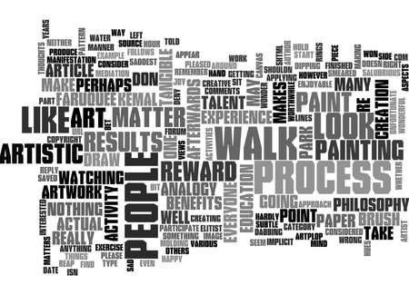 ART IS FOR EVERYONE TEXT WORD CLOUD CONCEPT