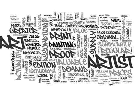 actuality: ART MYTHS DEBUNKED TEXT WORD CLOUD CONCEPT