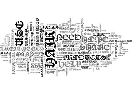 overly: AT HOME HAIR REMOVAL TECHNIQUES TO USE PART ONE TEXT WORD CLOUD CONCEPT Illustration