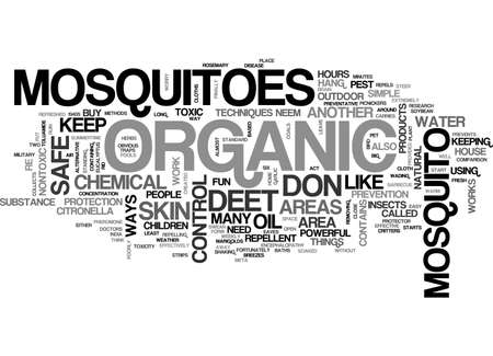 fortunately: ATHOSE NASTY MOSQUITOES TEXT WORD CLOUD CONCEPT