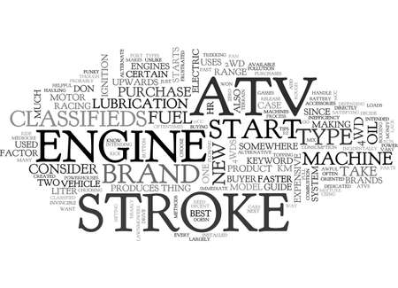 ATV CLASSIFIED TEXT WORD CLOUD CONCEPT