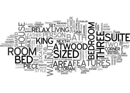ATWOOD HOUSE TEXT WORD CLOUD CONCEPT