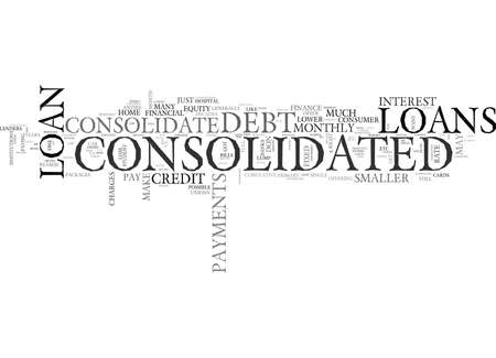 WHY DO YOU HAVE TO CONSOLIDATE TEXT WORD CLOUD CONCEPT