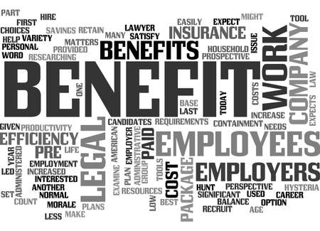 BENEFITS OF PREPAID PLANS FOR YOUR COMPANY TEXT WORD CLOUD CONCEPT