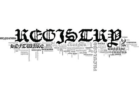 booting: WHY DO YOU NEED TO READ REGISTRY CLEANER REVIEWS TEXT WORD CLOUD CONCEPT Illustration