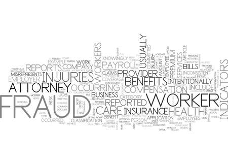 WHAT IS FRAUD TEXT WORD CLOUD CONCEPT