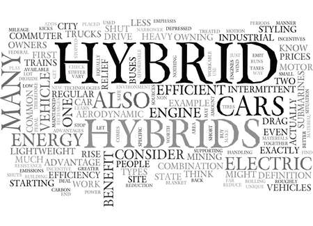 WHAT IS HYBRID AND HOW CAN IT BENEFIT YOU TEXT WORD CLOUD CONCEPT