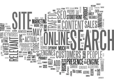 YOUR ONLINE BUSINESS CAN GROW WITH SEO TEXT WORD CLOUD CONCEPT
