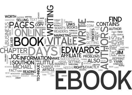 reviewed: YOUR OWN EBOOK IN DAYS TEXT WORD CLOUD CONCEPT
