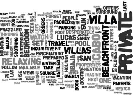 overly: YOUR OWN PRIVATE PARADISE TEXT WORD CLOUD CONCEPT