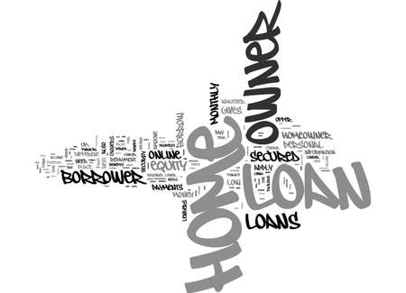 BENEFITS OF HOME OWNER LOAN FIND OUT WHAT IT HOLDS FOR YOU TEXT WORD CLOUD CONCEPT
