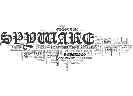 finding: BEST SPYWARE REMOVERS TEXT WORD CLOUD CONCEPT