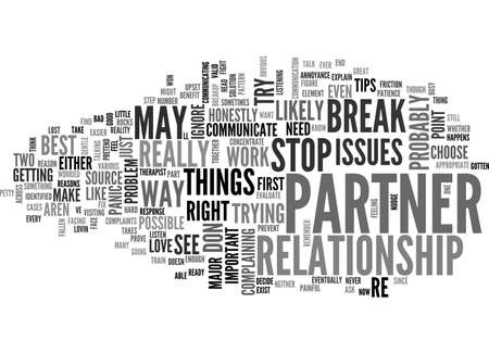 BEST WAY HOW TO STOP A BREAK UP TEXT WORD CLOUD CONCEPT