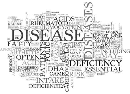deficiencies: WHICH CAME FIRST THE DISEASE OR THE DEFICIENCY TEXT WORD CLOUD CONCEPT