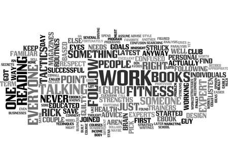 brain works: WHO S YOUR GURU TEXT WORD CLOUD CONCEPT Illustration