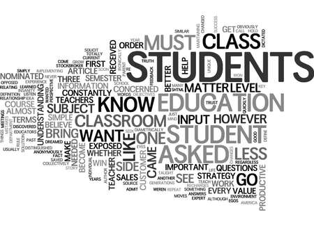 WHEN THE TEACHER BECOMES THE STUDENT TEXT WORD CLOUD CONCEPT
