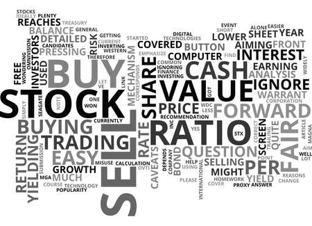 WHEN TO BUY AND SELL TEXT WORD CLOUD CONCEPT