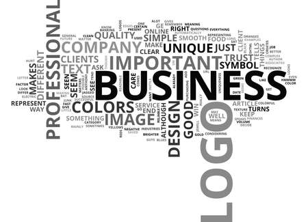 WHY IS A LOGO SO IMPORTANT TO YOUR BUSINESS TEXT WORD CLOUD CONCEPT