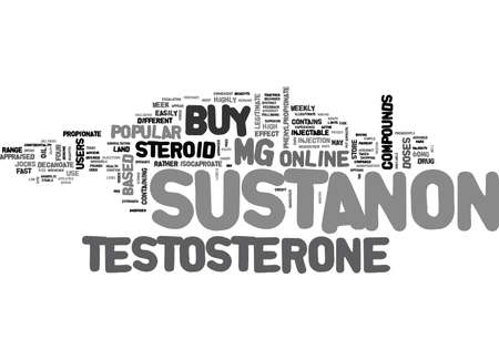 injectable: YOU CAN BUY SUSTANON ONLINE TEXT WORD CLOUD CONCEPT Illustration
