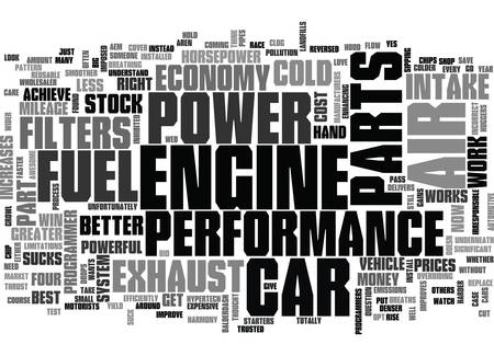 YOU CAN IMPROVE YOUR CAR S POWER TEXT WORD CLOUD CONCEPT
