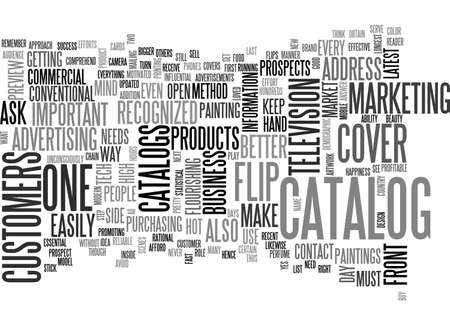 catalogs: BETTER APPROACH FOR BIGGER RESULTS TEXT WORD CLOUD CONCEPT Illustration