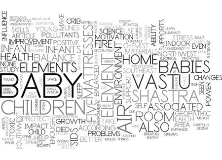 BETTER HEALTH AND HAPPINESS FOR YOUR BABY TEXT WORD CLOUD CONCEPT Banco de Imagens - 79580627