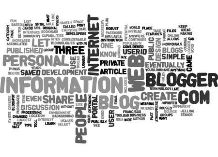 writer: WHAT IS BLOGGER COM TEXT WORD CLOUD CONCEPT