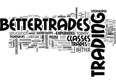 inc: BETTER TRADES INC TEXT WORD CLOUD CONCEPT