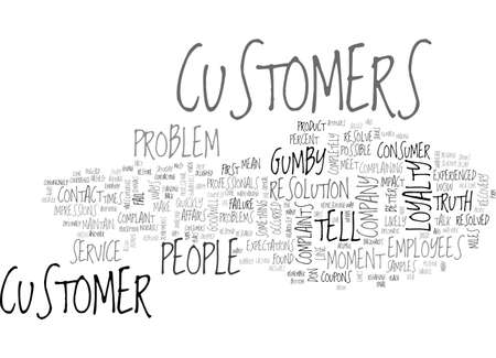 BETTER WAYS TO HANDLE COMPLAINTS TEXT WORD CLOUD CONCEPT