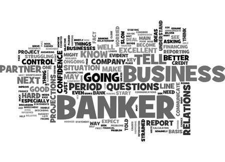WHY BANKS ARE YOUR BEST PARTNER IN BUSINESS TEXT WORD CLOUD CONCEPT Illusztráció