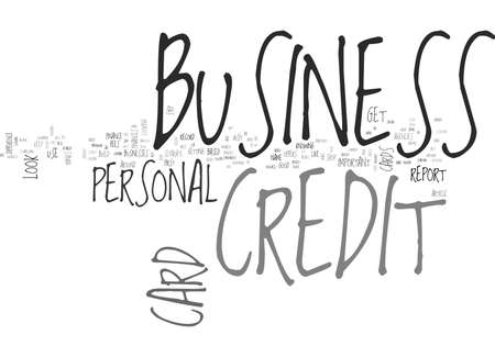 WHAT TO LOOK FOR IN BUSINESS CREDIT CARDS TEXT WORD CLOUD CONCEPT