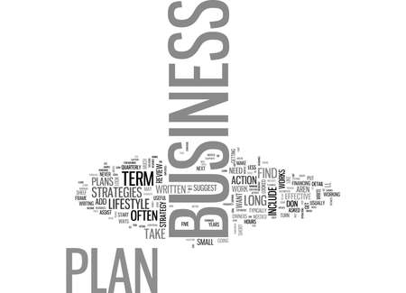WHY BUSINESS PLANS DON T WORK AND WHAT TO DO ABOUT YOURS TEXT WORD CLOUD CONCEPT