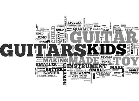子供ギター テキスト単語雲概念を購入する理由