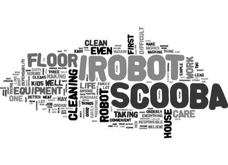 アイロボット SCOOBA テキスト単語クラウドの概念を購入する理由  イラスト・ベクター素材