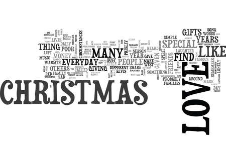 WHY CAN T EVERYDAY BE LIKE CHRISTMAS TEXT WORD CLOUD CONCEPT Illustration