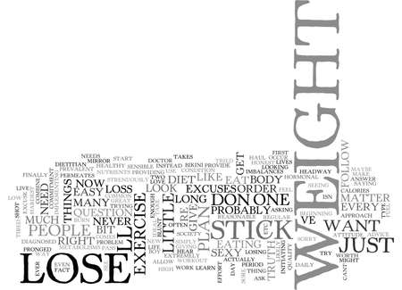 prevalent: WHY CANT I LOSE WEIGHT RIGHT NOW TEXT WORD CLOUD CONCEPT Illustration