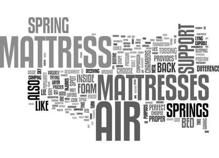 エアマットレス本文単語雲概念を選ぶ理由