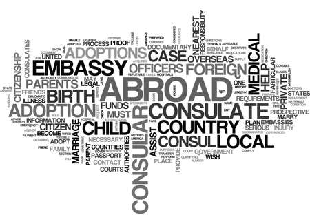 WHAT US CONSULS CAN DO TO HELP YOU TEXT WORD CLOUD CONCEPT