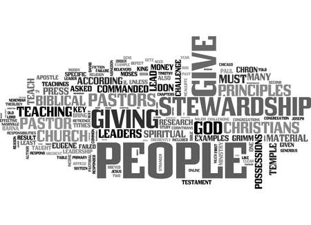 WHY CHRISTIANS DON T GIVE TEXT WORD CLOUD CONCEPT