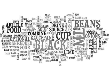 YOU DON T KNOW BEANS TEXT WORD CLOUD CONCEPT