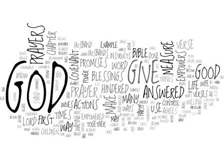 YOU ARE EMPOWERED BY GOD TEXT WORD CLOUD CONCEPT