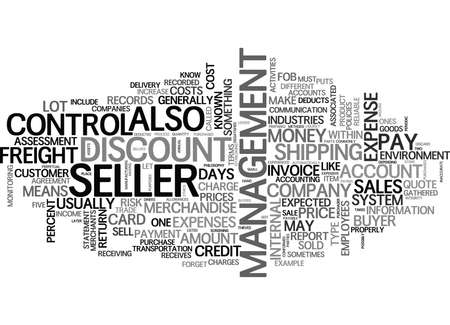 YOU GOT TO SELL IT TEXT WORD CLOUD CONCEPT Vettoriali